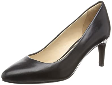 Cole Haan Women's Grace Grnd Pmp 65mm Dress Pump, Black Leather, ...