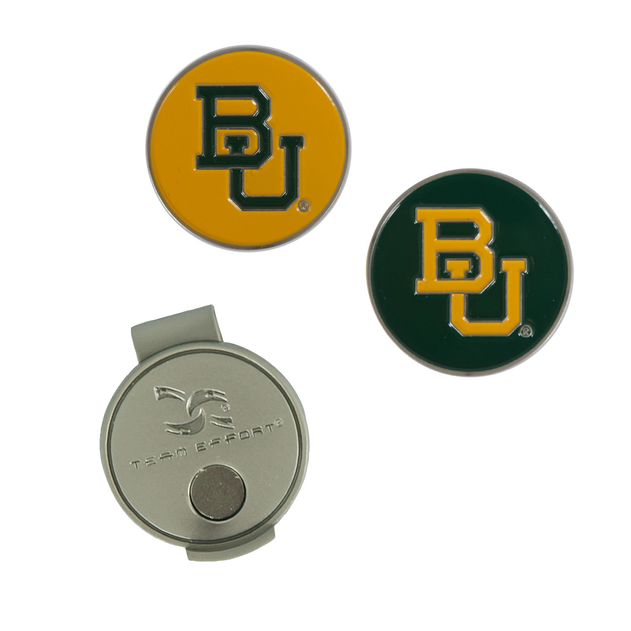 Team Effort Baylor Bears Hat Clip & 2 Ball Markers