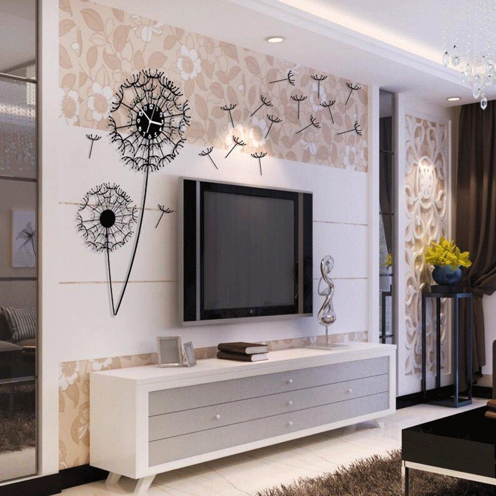 TXXM® 現代ミニマル時計リビングルームアート装飾的な壁時計パーソナリティクリエイティブファッションハンギングミュート時計 (サイズ さいず : 20 inches) B07F6G6Y6G20 inches