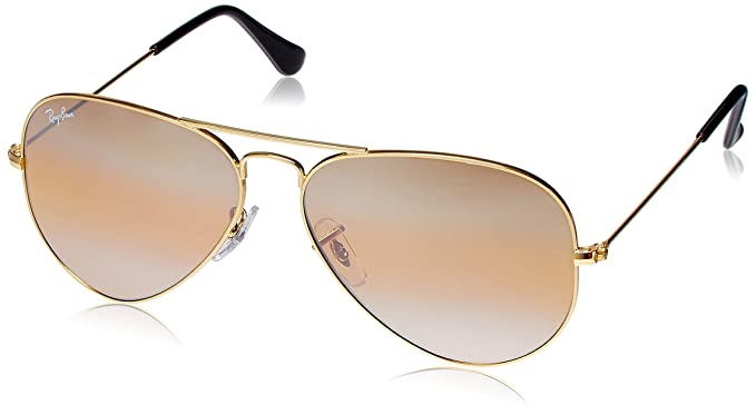 fdd51d5e38 Image Unavailable. Image not available for. Colour  Ray-Ban Aviator  Sunglasses (Yellow ...