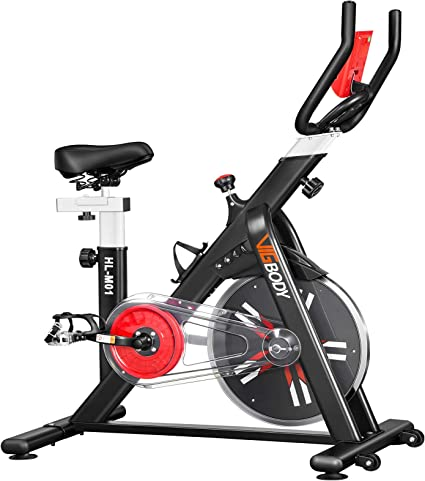 Home Gym Portable Upright Stationary Belt Exercise Fitness Bike Cycle Bicycle