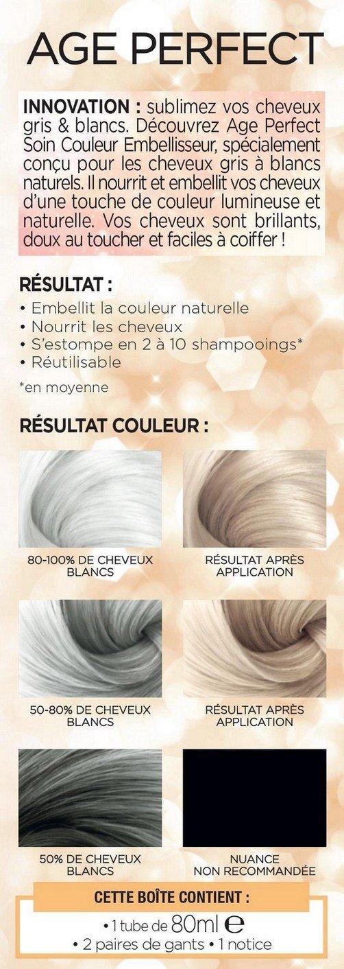 Couleur cheveux gris beige