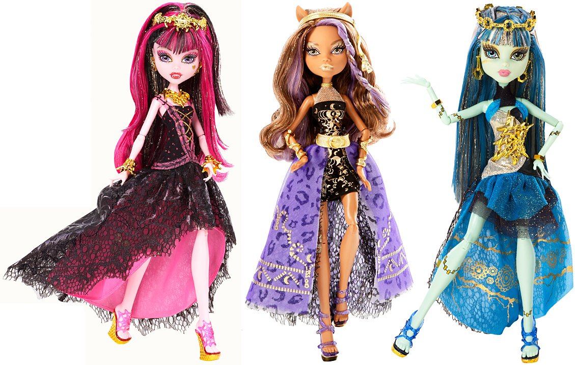 Buy Monster High 13 Wishes Haunt the Casbah Clawdeen Wolf Doll ...