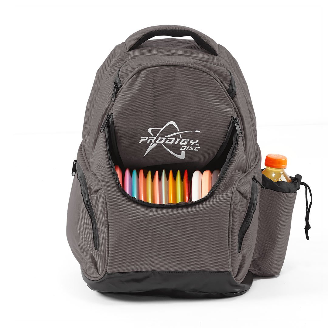 Prodigy Disc BP-3 Disc Golf Backpack (Gray) by Prodigy Disc