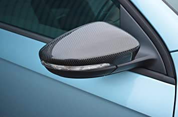 Juego de cubiertas de fibra de carbono para espejo retrovisor para Passat B7 (2010-
