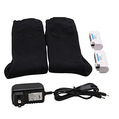 Rechargeable Battery Heated Socks Kit for Chronically Cold Feet for Women and Men