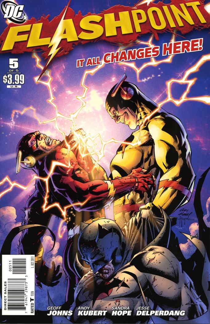 Flashpoint (2nd Series) #5 VF/NM ; DC comic book