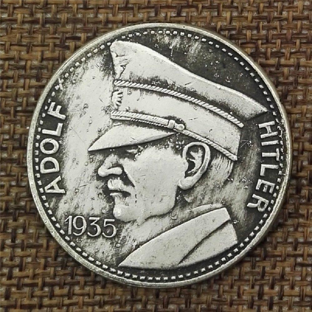 VIOY Alemania Angustia Cobre Blanco Moneda de Plata Colección de Monedas de Dólar de Plata extranjera,Plata,Un Tamaño