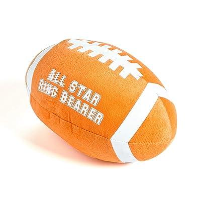 Plush All Star Ring Bearer Football Thank You Wedding Gift: Toys & Games