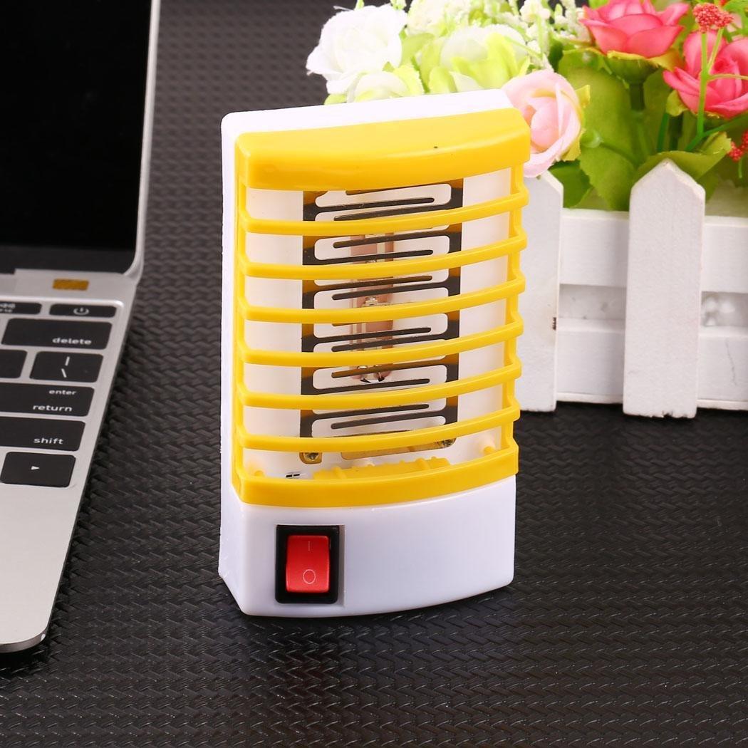 LED Socket Elektrische Moskito Fliegen Bug Insect Nachtlampe Killer Zapper Riklos