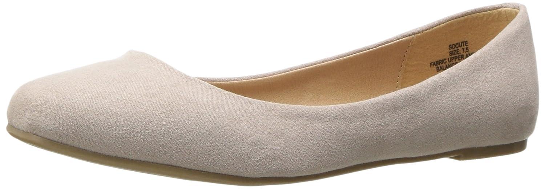 Madden Girl Women's Socute Ballet Flat B01NAYHCOD 8.5 B(M) US|Blush Fabric