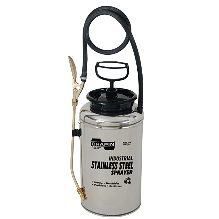 Chapin International 1739 Chapin Industrial Stainless Steel Sprayer for Fertilizer, Herbicides and Pest