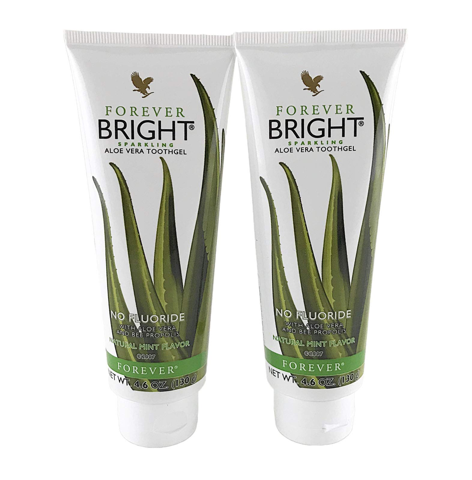 Forever Living Forever Bright ToothGel, 4.6 OZ (Pack of 2)
