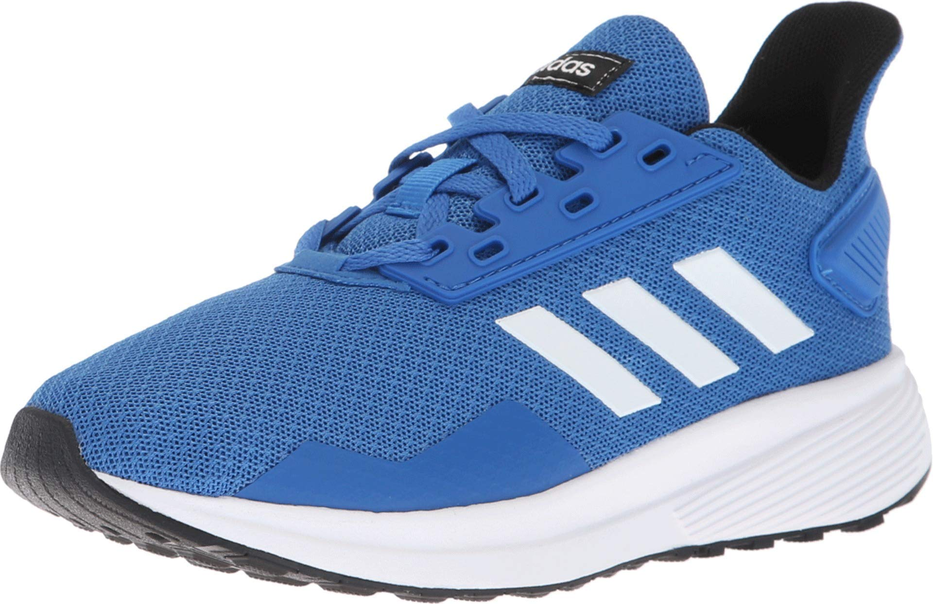 adidas Unisex-Kid's Duramo 9 Running Shoe, Blue/White/Black, 12.5 M US by adidas