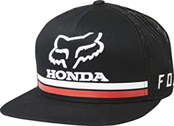 Fox Racing Honda Snapback Hat-Black