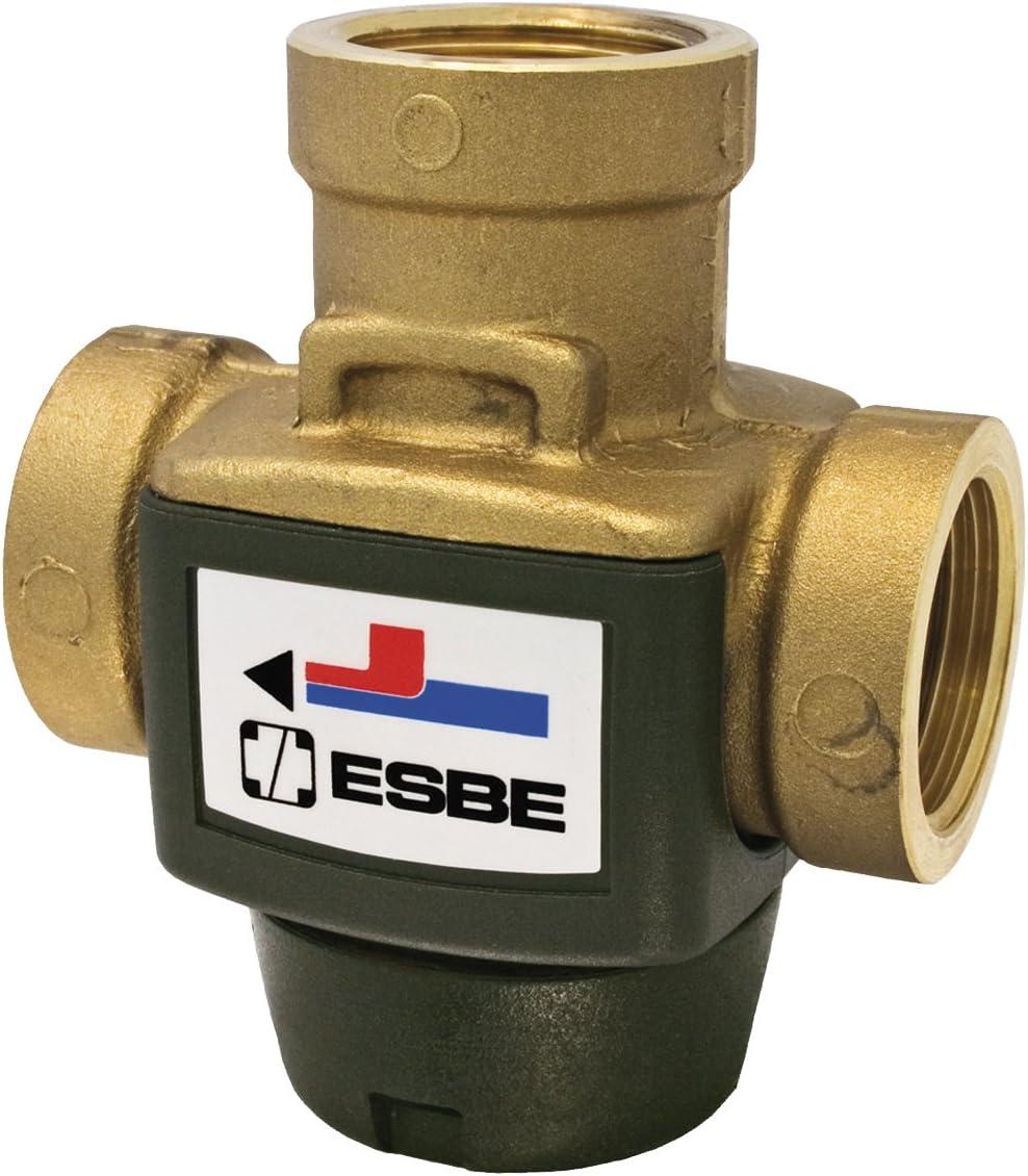 Esbe; VTC 311 70ºC; Valvula de carga para calderas de biomasa de 30 Kw, 3,4