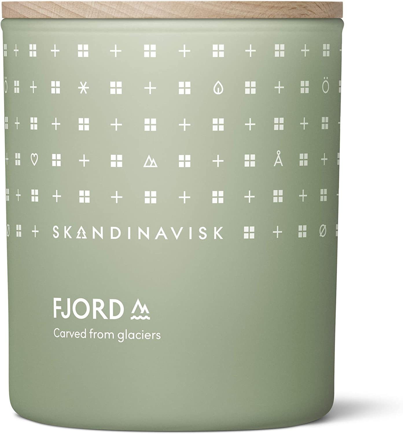 Skandinavisk Fjord Scented Candle. Fragrance Notes: Apple and Pear Blossom, Orchard Fruits and Redcurrants. 7.0 oz.