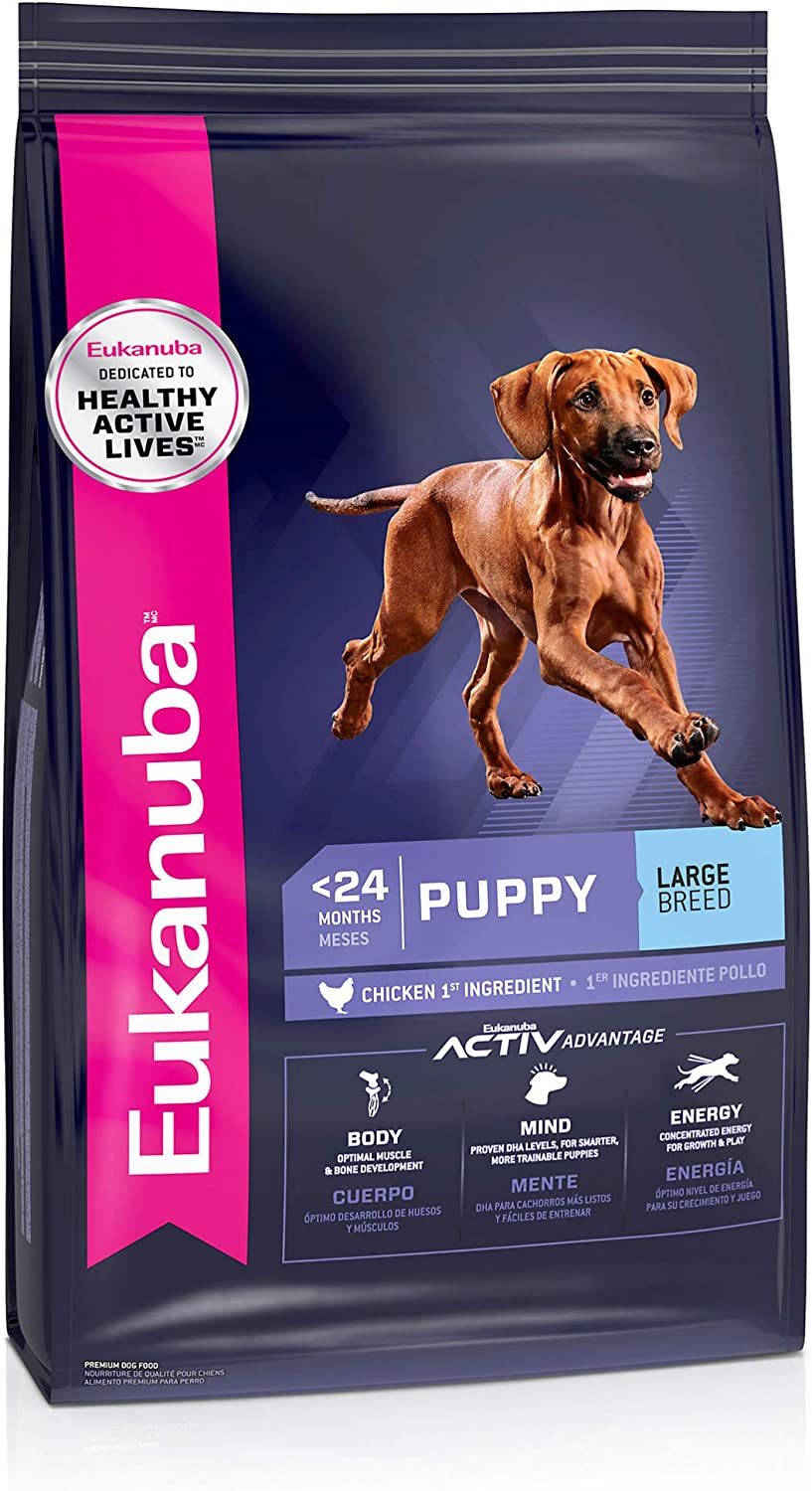 Eukanuba Puppy Dry Dog Food Chicken - Large Breed