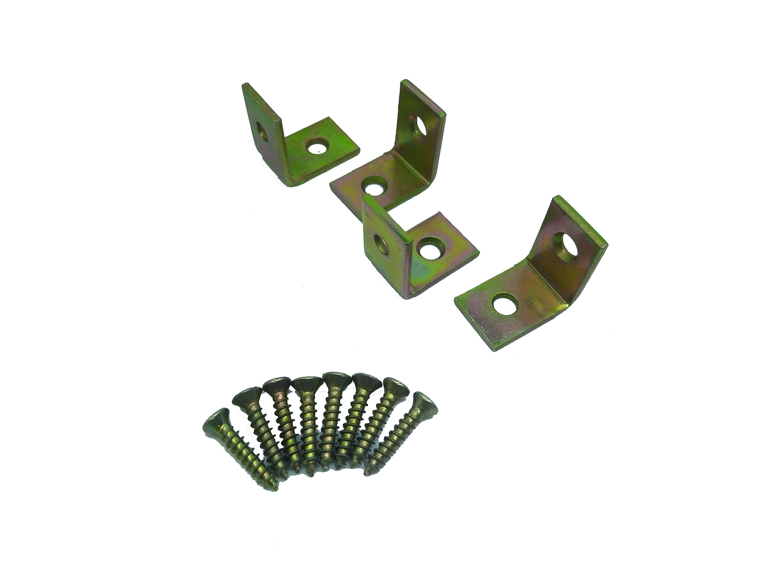 Specialty Hardware Corner Brace 1 inch Satin Brass 200pcs