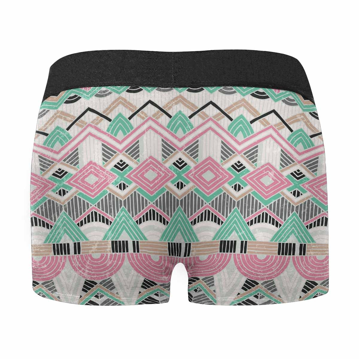 XS-3XL INTERESTPRINT Mens All-Over Print Boxer Briefs White Pearl Beads