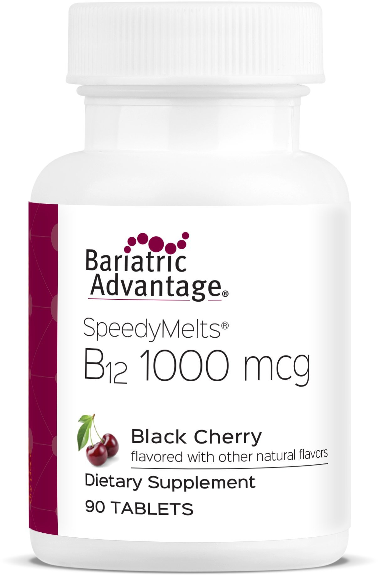 Bariatric Advantage B-12 Speedy Melts (Black Cherry, 90 Count)