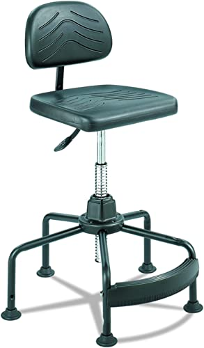 Safco Products Task Master Economy Industrial Chair Additional options sold separately , Black