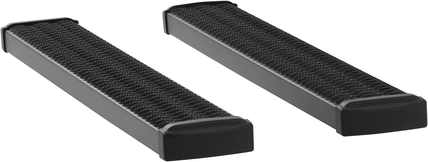 LUVERNE 415054-401741 Grip Step Black Aluminum 54-Inch Truck Running Boards GMC Sierra 2500 3500 HD Select Chevrolet Silverado
