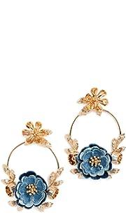 Kate Spade New York Flower Child Door Knocker Earrings xu2fm7gy6