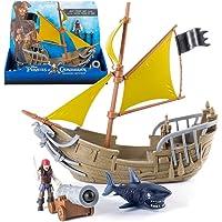 Piratas del Caribe - Conjunto Juguetes Barco Pirata