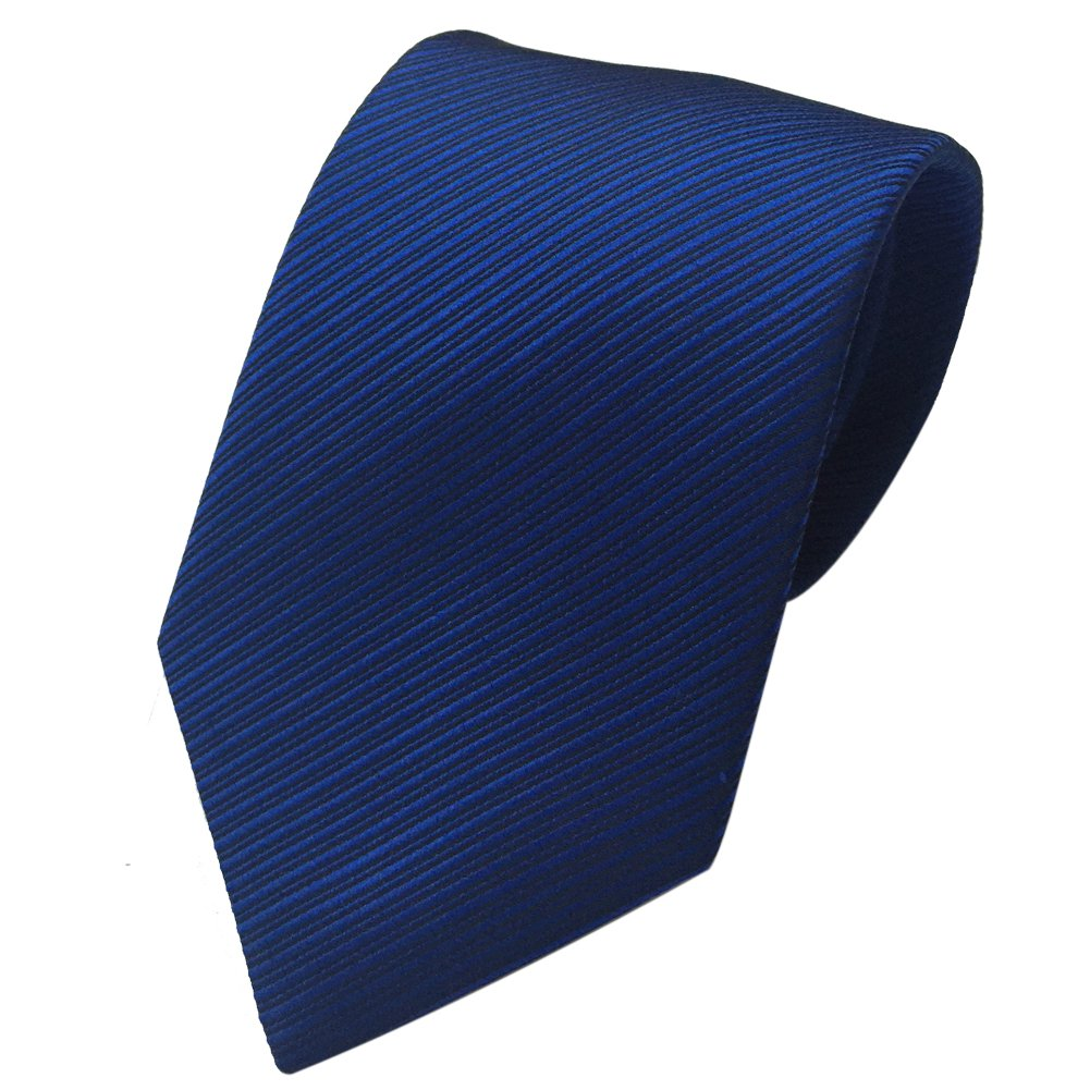 Mens Necktie with Stripe Textured 8 cm / 3 inches- Various Colors (Light Blue) HongJI e-Commerce