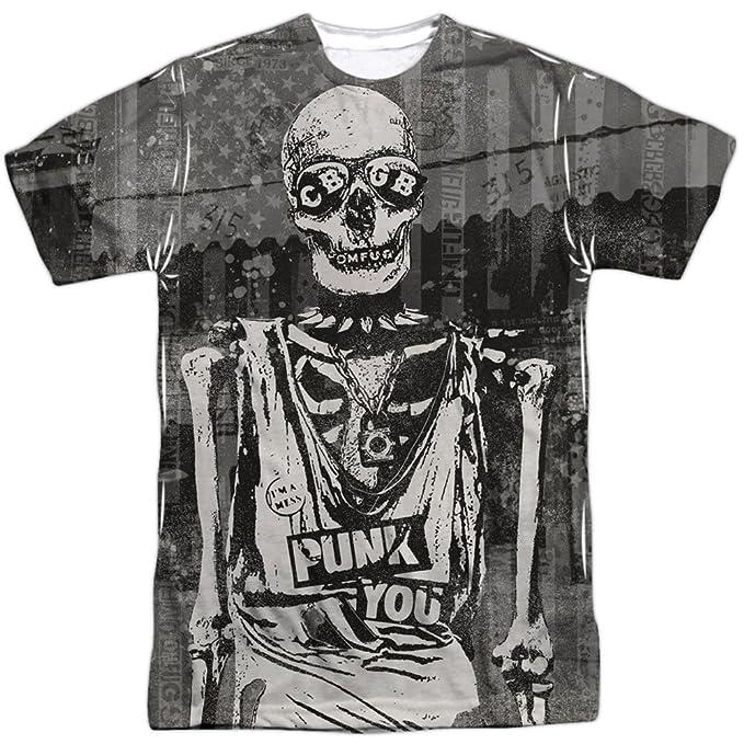 CBGB Punk camisa de la sublimación para hombre: Amazon.es: Ropa y accesorios