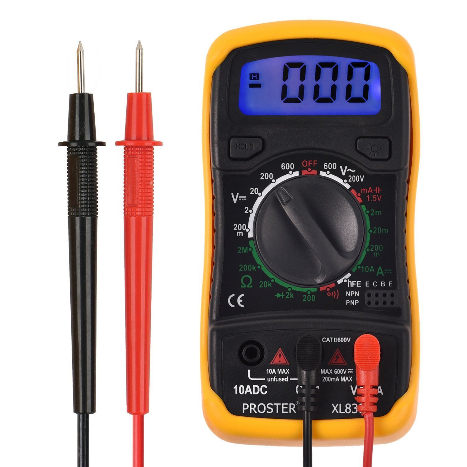 Digital Multimeter Symbols : Proster digital multimeters mini multimeter pocket