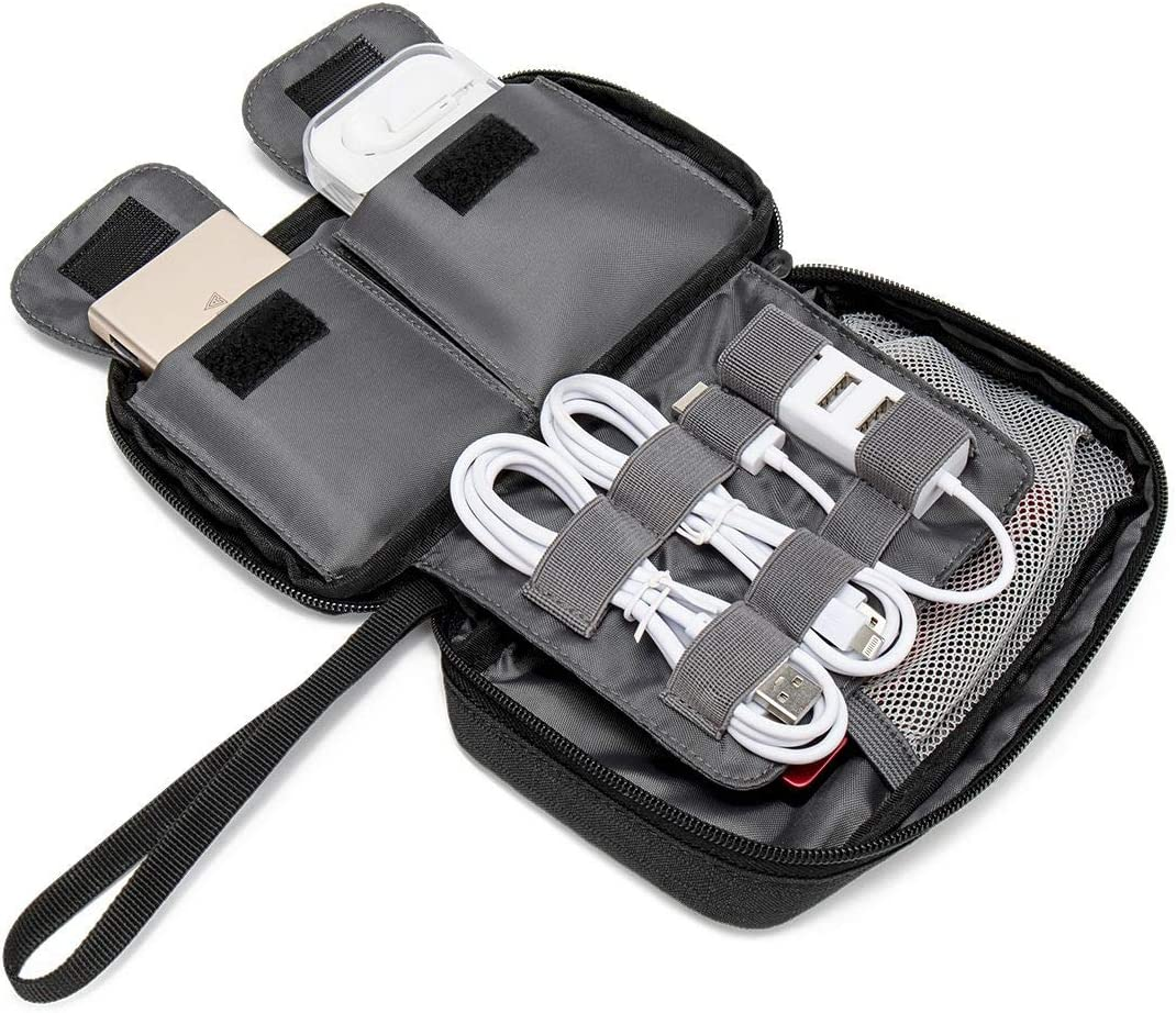 Zengqinglove Carl Cox Stylish Data Cable Charger Cable Earphone Cable Storage Bag