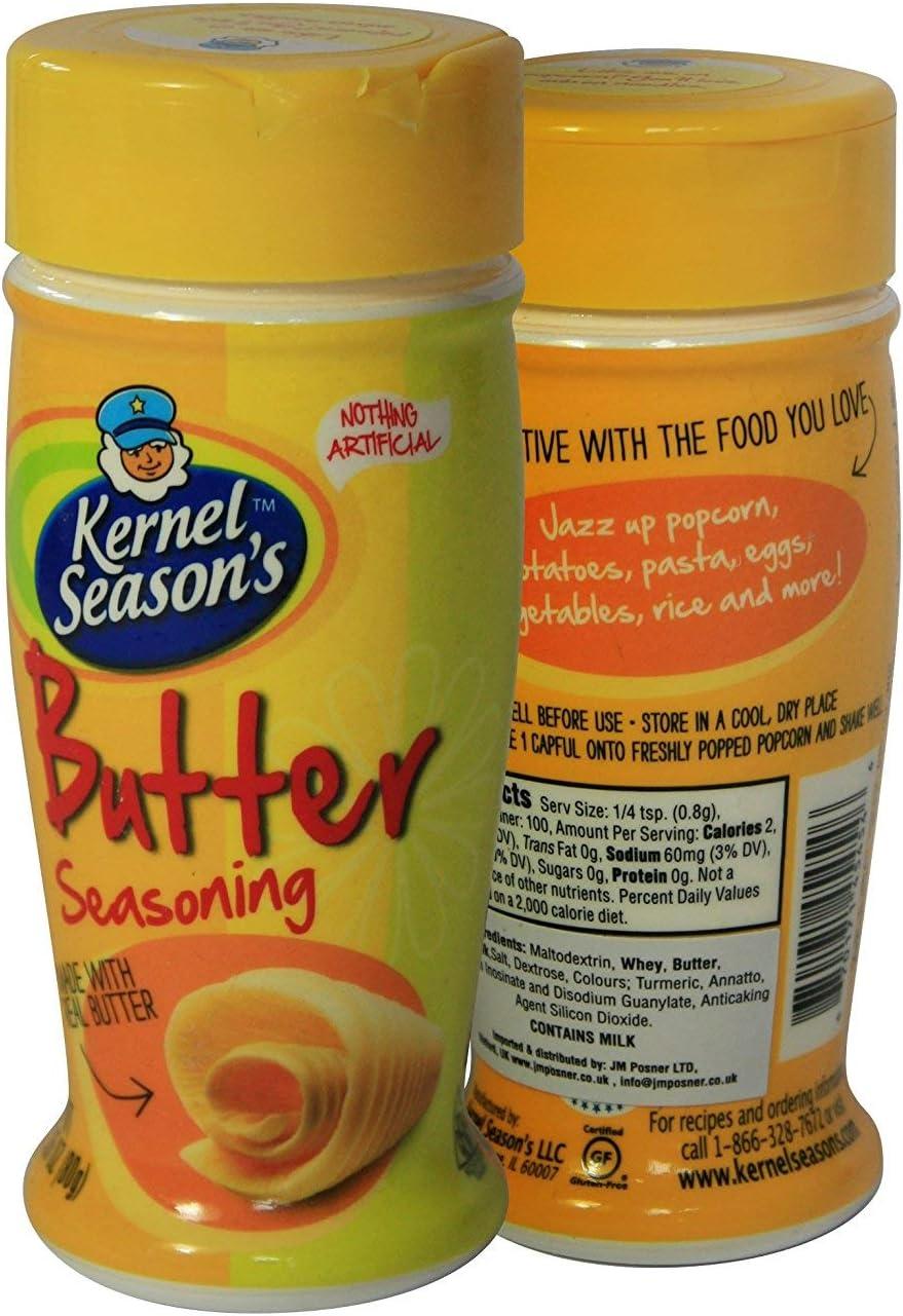 Kernel Seasons – Condimento para Palomitas con sabor a Mantequilla – Sabores para Palomitas