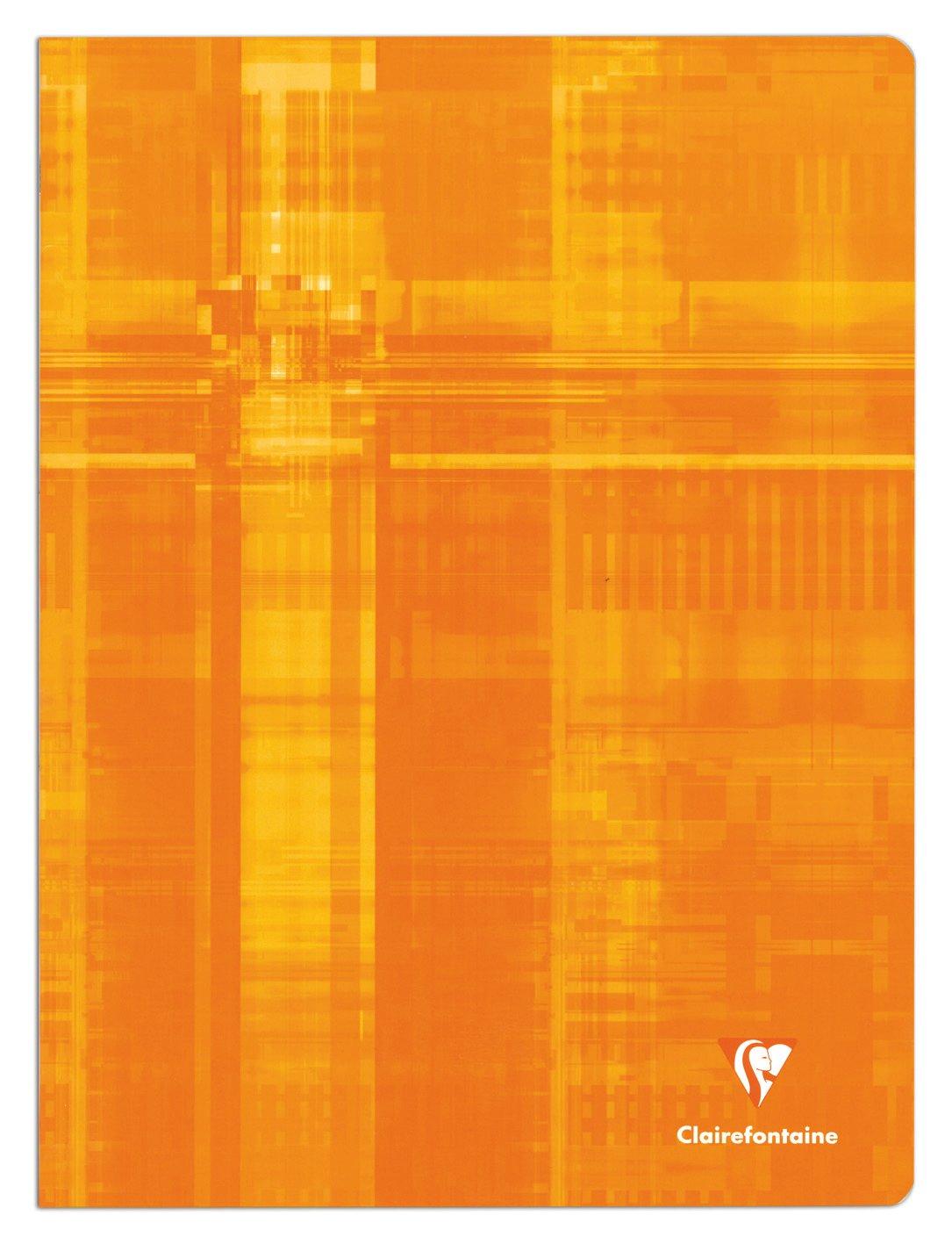 120 pagine 1 pezzo Tessere grandi Colori assortiti Clairefontaine Metric 3371C- Quaderno trapuntato 24 x 32 cm