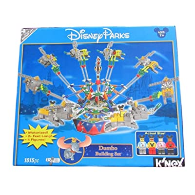 Disney Parks Knex Motorized Dumbo 1015 Pc Building Set: Toys & Games