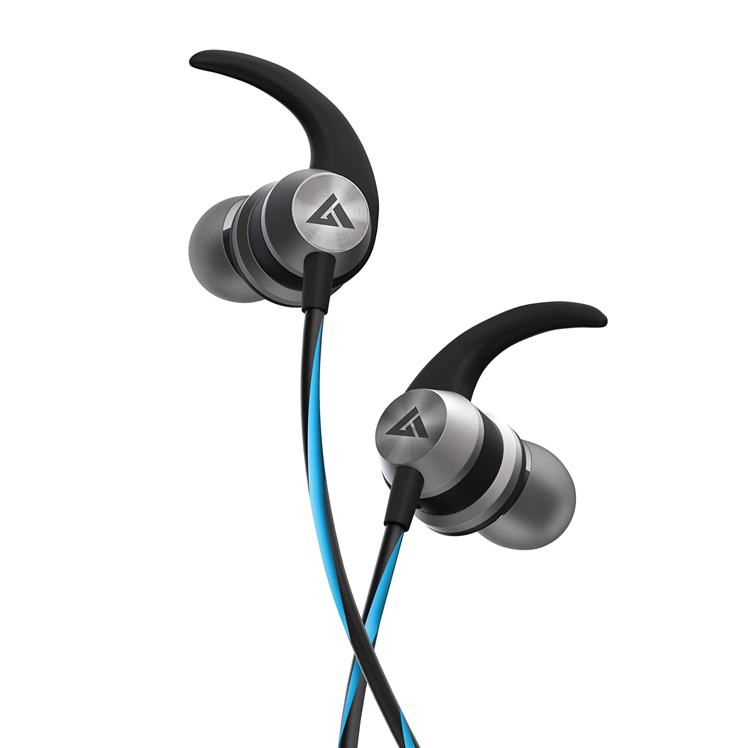 Boult Audio BassBuds X1 in-Ear Wired Earphones with 10mm Extra Bass Driver and HD Sound with mic(Blue)