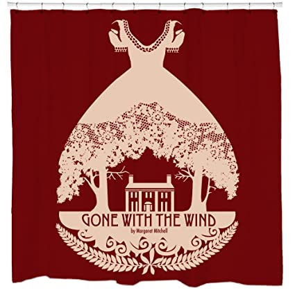 Sharp Shirter Gone With The Wind Shower Curtain