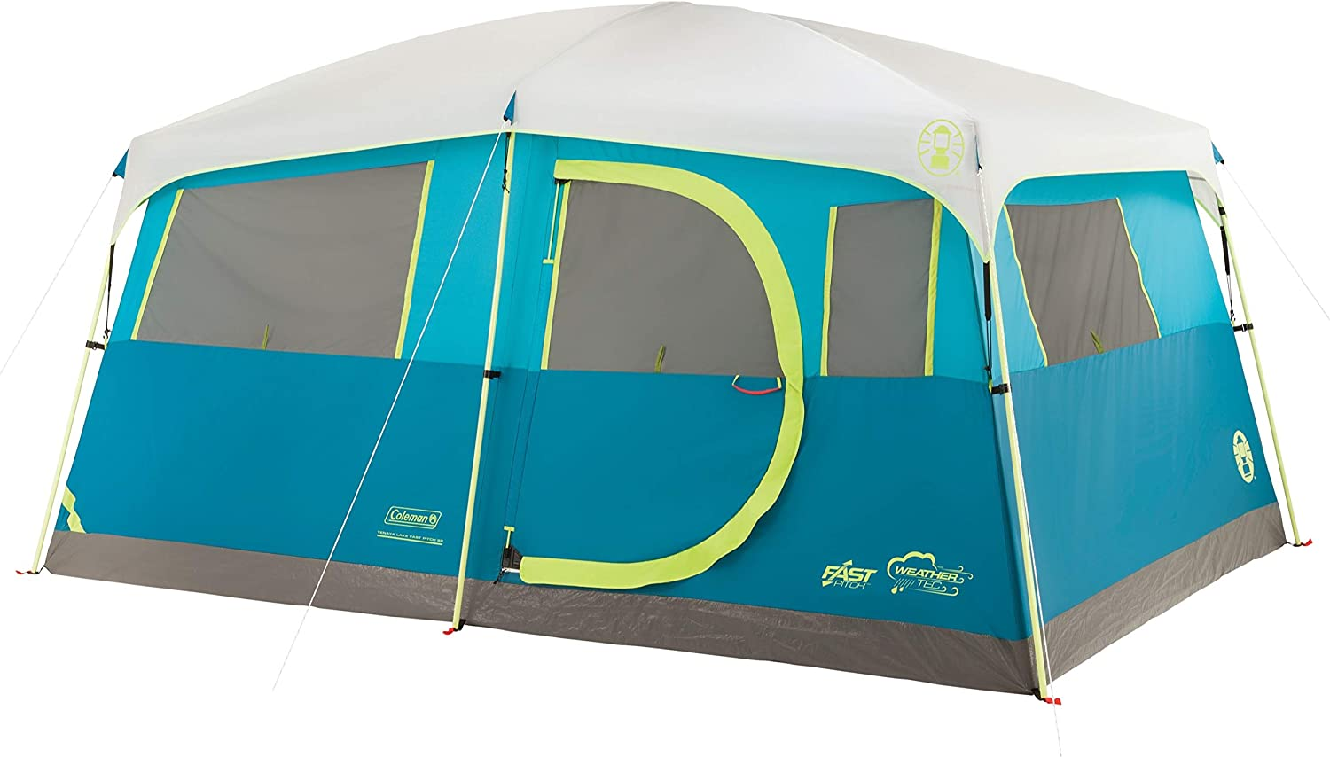 Coleman Tenaya Lake Fast Pitch 8 Person Tent with Built-in Closet image