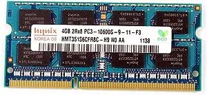 Hynix 4GB Laptop RAM Module DDR3 PC3-10600S HMT351S6BFR8C-H9