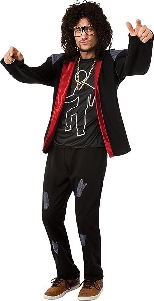 De Disfraz de Grupo de Rock LMFAO SkyBlu de Fiesta para Adultos ...