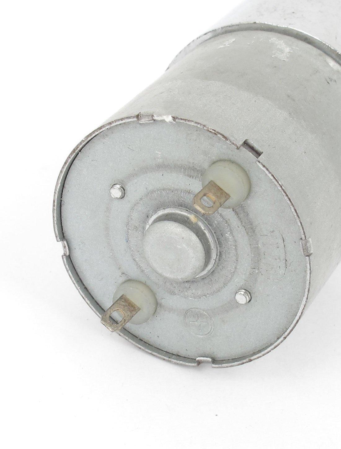 DealMux DFGA37RG-80i Cilindro Forma DC 12V Velocidade 5 RPM motor engrenado - - Amazon.com