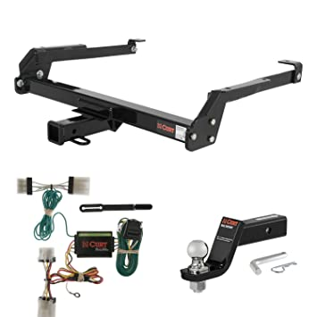 amazon com curt trailer hitch wiring 2 ball mount w 4 drop rh amazon com Nissan VTC nissan hardbody trailer wiring