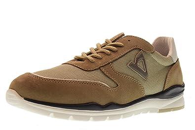 Valleverde Scarpe Uomo Sneakers Basse V19802 Deserto Taglia