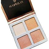 Beauty Glazed Multi-effect Quadra Eyeshadow Highlighter Powder Make Up Palettes Eyeshadow Palette Highlight Cosmetic