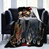 Joker Flim hot SOFA AND BED FOR FAN Fleece Blanket 50x60in Made in US