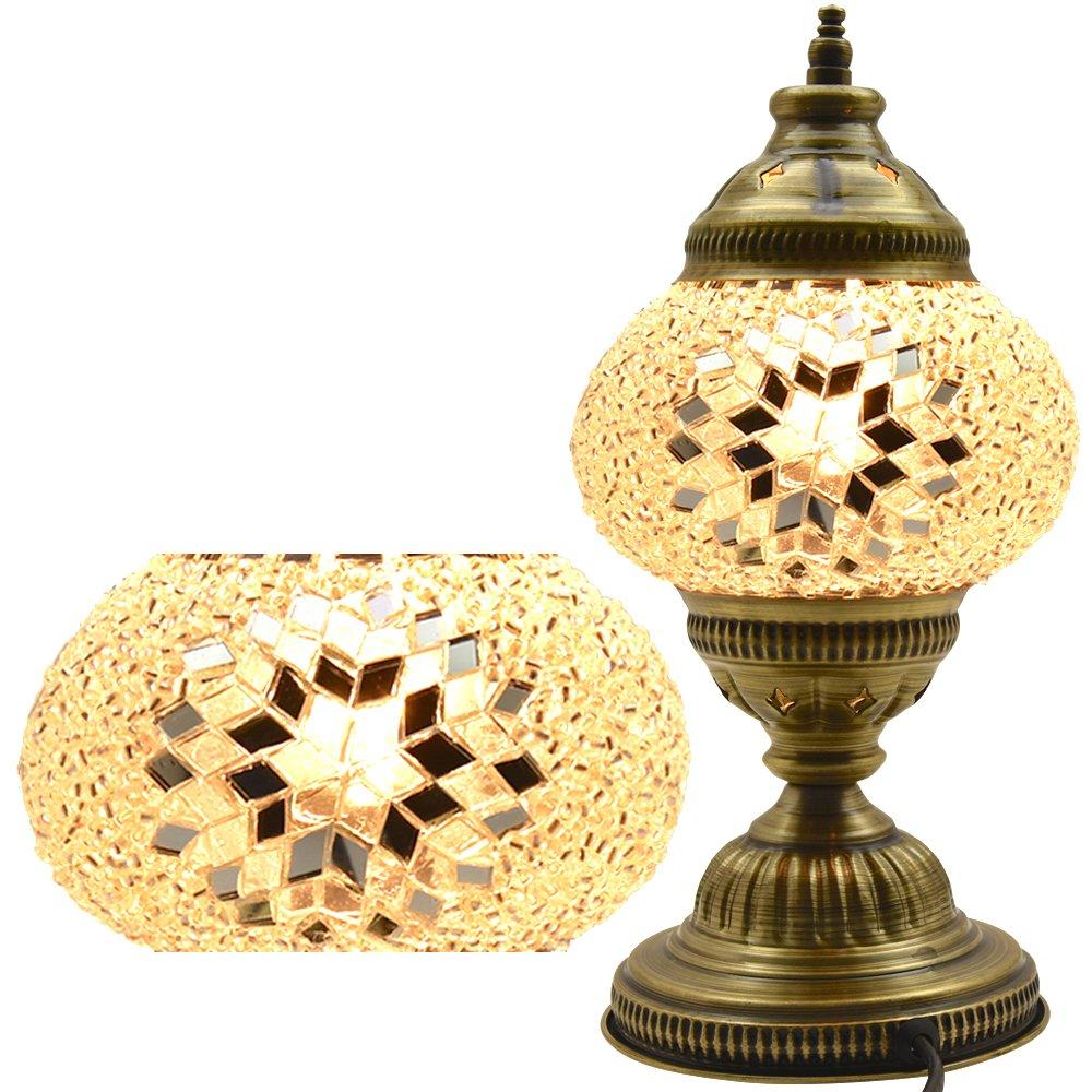 Amazon lamp shades tools home improvement - Mosaic Table Lamp Lamp Shade Turkish Lamp Moroccan Lamp Amazon Com