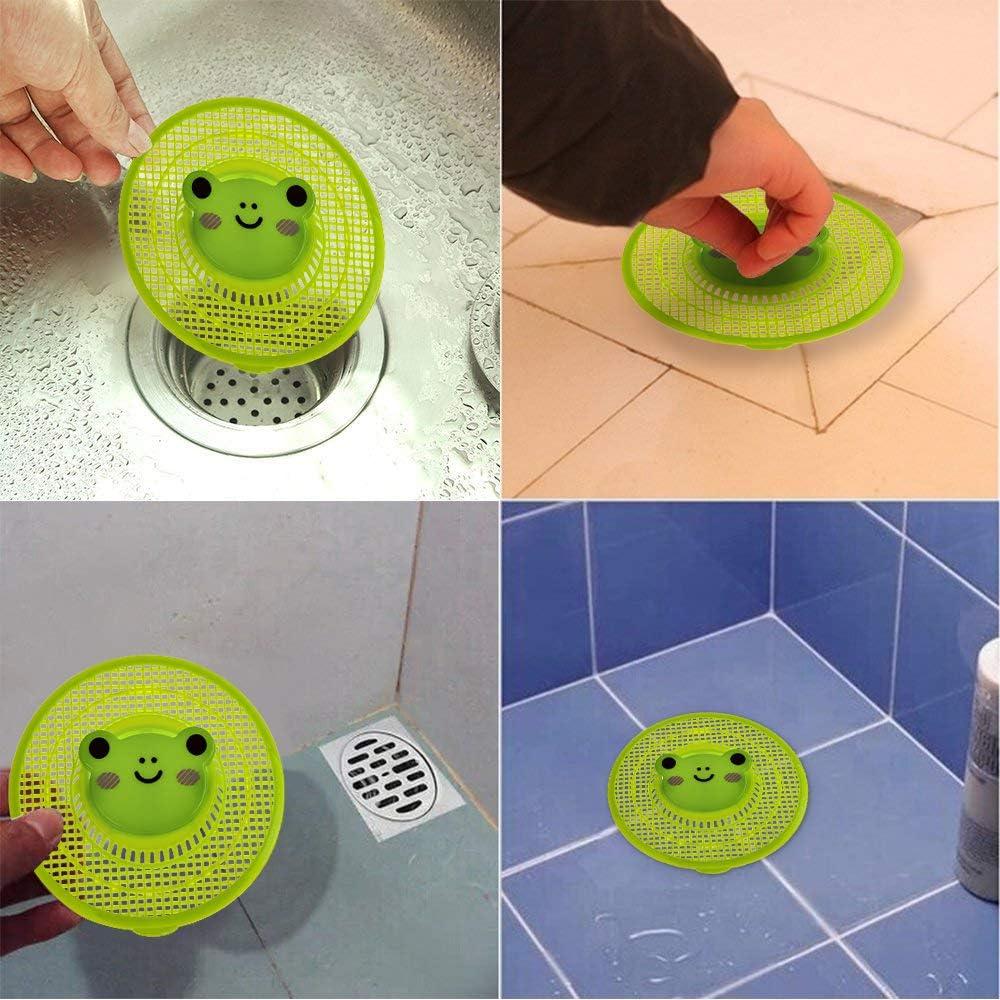 1 Piece Bathroom Kitchen Sink Drain Filter Strainer Protector Waste Hair Catcher