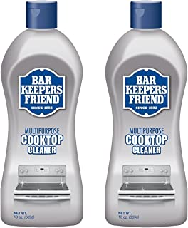 product image for Bar Keepers Friend Multipurpose Ceramic and Glass Cooktop Cleaner | 13-Ounces | 2-Pack, 13 Ounce (Pack of 2), Natural, 26 Ounce