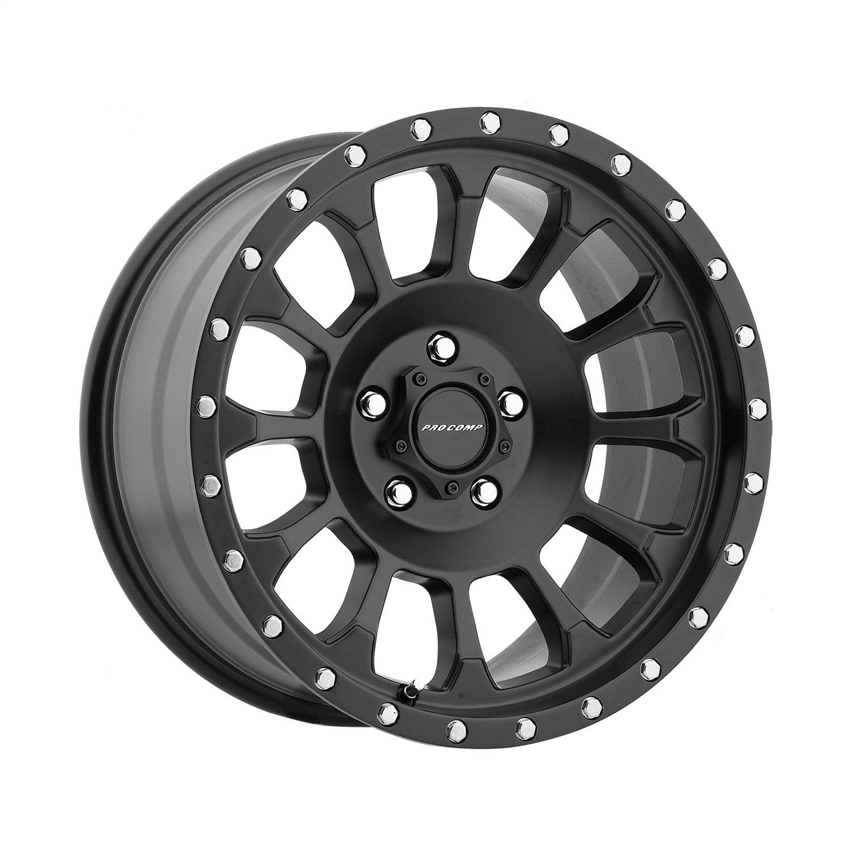 Pro Comp Alloys Series 34 Rockwell Wheel with Satin Black Finish (18x9''/5x5'')